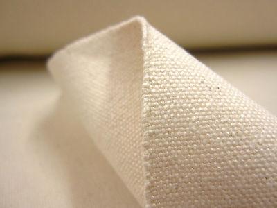 Natural Cotton Duck Canvas Fabric Sold Per Metre 36w 14oz