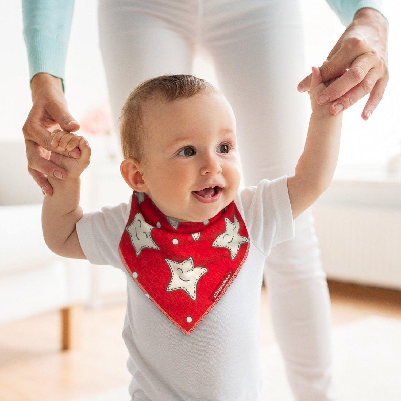Baby Bandana Drool Bibs 4 Pack Cheraboo Dribble Soft
