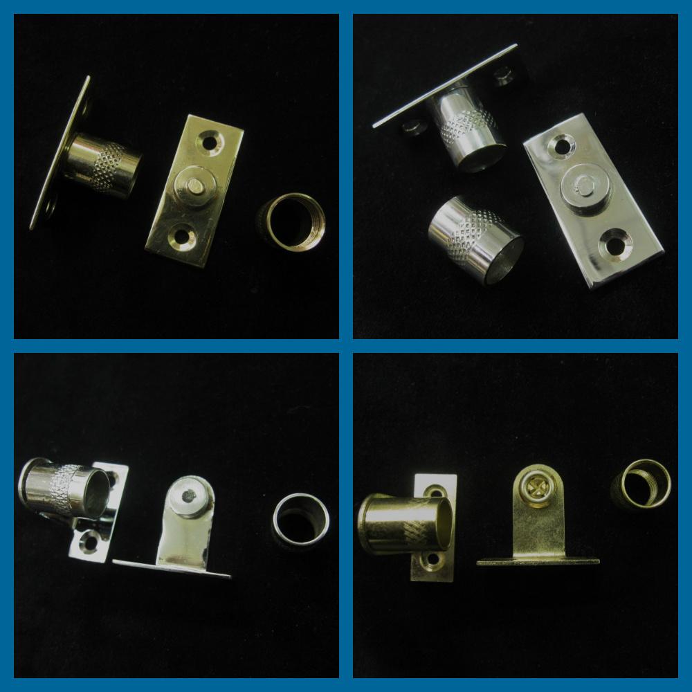 Curtain Rod Sockets Brackets For 16mm Diameter Net Rods
