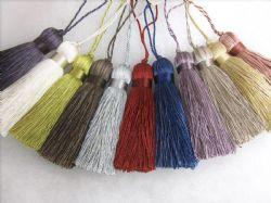15cm loop Red Suede Key Tassel  Fabric trim Trimming Sewing 17cm Tassel